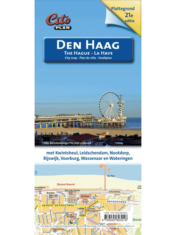Den Haag stadsplattegrond Cito-plan