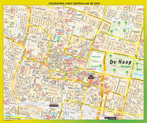 De Haag op ze Haags poster klein (Den Haag – Centrum)