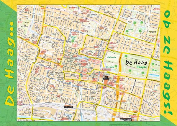 De Haag op ze Haags poster groot (Den Haag – Centrum)