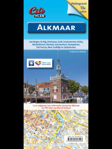 Kaartomslag Alkmaar