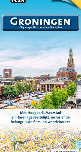 Citoplan Groningen stadsplattegrond